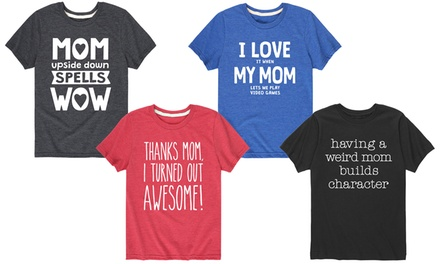 Big Kid Funny Mother's Day Tees