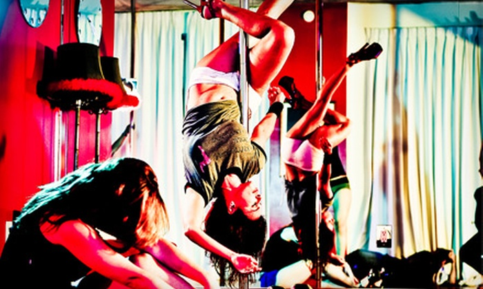Kitty Kat Pole Dancing - Miami: $29 for Five Pole-Dancing, Sexy-Chair, Lap-Dancing, and Flexibility Classes at Kitty Kat Pole Dancing ($85 Value)