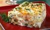 Lasagna's On Ya - Multiple Locations: $13 for $20 Worth of Take-and-Bake Lasagna, Bread, Salads, and Desserts at Lasagna's On Ya
