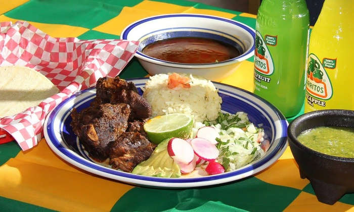 Taqueria Nicos - Downtown Gresham: $11 for Two Groupons, Each Good for $10 Worth of Mexican Food at Taqueria Nicos ($20 Value)