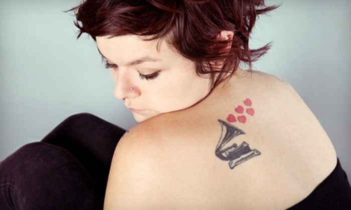 Harley at SLC Ink - People's Freeway: One, Two, or Three Hours of Tattoo Services from Harley at SLC Ink (Up to 51% Off)
