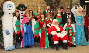 Santa's Winterfest at Country Junction: Entry to Santa's Winterfest at County Junction for Adults and Kids (52% Off). Three Options Available.