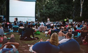 Sunset Cinema: $30 for Outdoor Cinema Doubles Passes or $40 with Backrests at Sunset Cinema Gasworks Arts Park, CBD (Up to $53 Value)