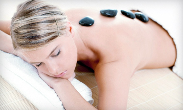 Zen Spa - The Elms: Two or Four 60-Minute Hot-Stone Massages at Zen Spa (Up to 81% Off)