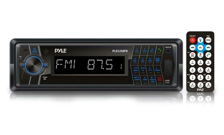 In-Dash AM/FM-MPX Radio with Bluetooth Wireless Streaming