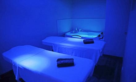 """Ritual privado """"Paraíso in Love"""" en pareja con masaje, jacuzzi y cava desde 39,95 € en Las Termas de Ruham"""