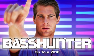 Oztix: Basshunter Concert: $75 for a Ticket at Choice of Location (Up to $96 Value)