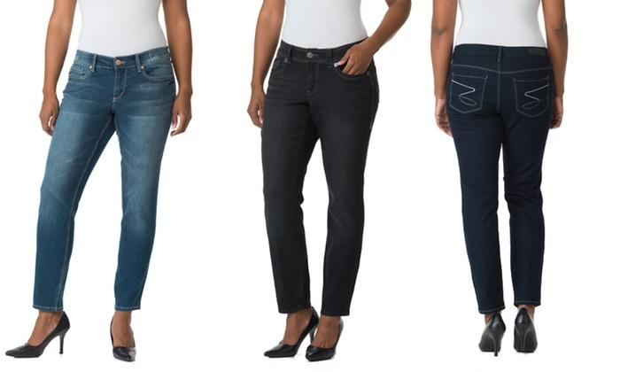 Seven7 Women's Plus-Size Denim Jeans: Seven7 Women's Plus-Size Denim Jeans. Multiple Styles Available. Free Returns.