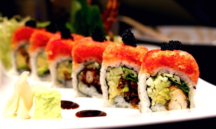 $15 for $30 Worth of Sushi, Hibachi, and Chinese Cuisine at Katana