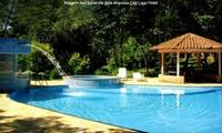 Lagoa Santa/MG: day use para 1, 3, 5 ou 8 pessoas + almoço no Hotel Fazenda CEP Lago Hotel
