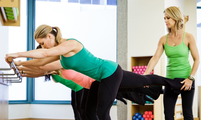 The Dailey Method - Little Italy: 5 Barre Fitness Classes or 1 Month of Unlimited Barre Fitness Classes at The Dailey Method (Up to 67% Off)