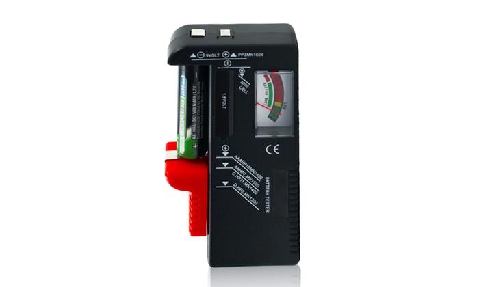 Multi Battery Tester : Stalwart multi battery tester groupon goods