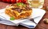 Tenuta Cantore - Ginosa: Menu tipico di carne con dolce e calice di vino per 2 e 4 persone alla Tenuta Cantore (sconto fino a 66%)