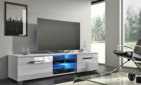 meuble tv tenus led coloris au choix a 99 90 57 de reduction