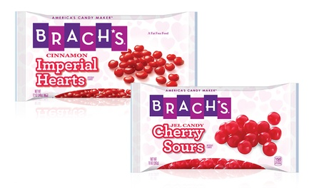Brach's Cherry Sours or Imperial Hearts (6-Pack)