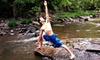 Riverflow Yoga - Laceworks: 10 or 15 Hot-Yoga Classes at Riverflow Yoga (Up to 85% Off)