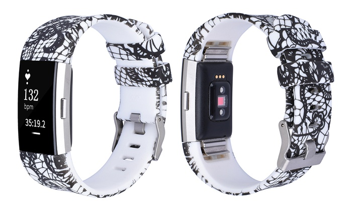 Up To 56% Off on Fitbit Charge 2 Silicone Bands | Groupon Goods