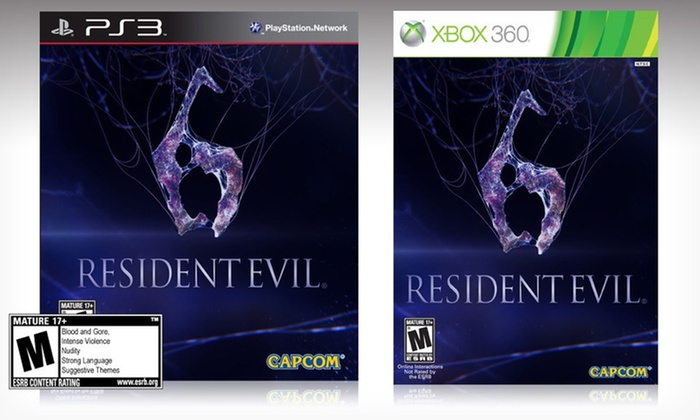 Resident Evil 6 for PS3 and Xbox 360: $14.99 for Resident Evil 6 for PlayStation 3 or Xbox 360 ($29.99 List Price). Free Returns.