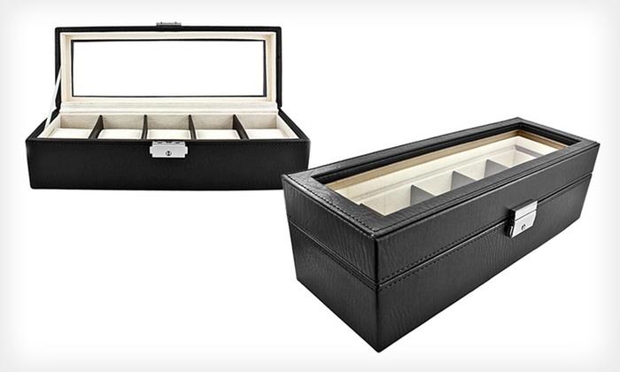 Luxury Watch Case: $28.99 for a Luxury Watch Case ($75 List Price)