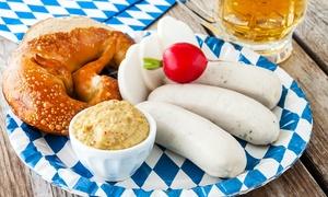 Sha Bar: Cena tipica bavarese con un litro di birra e dolce per 2 persone da Sha Bar in Prati (sconto fino a 66%)
