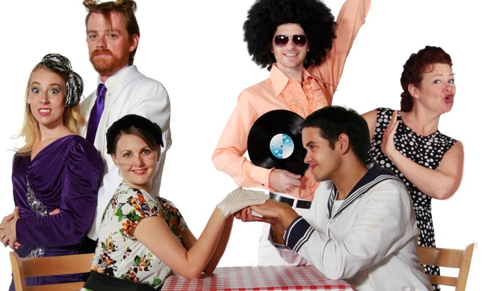 """""""Crazy Little Thing Called Love!"""" Presented by Oh Canada Eh? - Oh Canada, Eh? Theatre: $64 to see """"Crazy Little Thing Called Love!"""" presented by Oh Canada Eh? Dinner Show on Feb 13–Mar 29 ($144.41 Value)"""