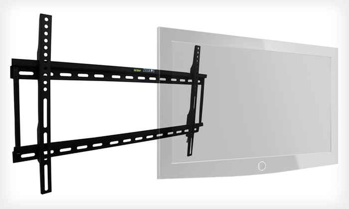 Ultraslim TV Wall Mount: $19.99 for a Zeikos 37''–65'' Ultraslim TV Wall Mount ($109.99 List Price). Free Shipping and Returns.