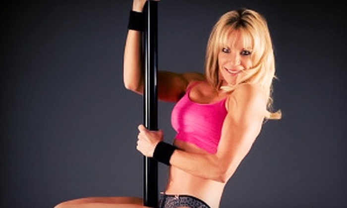 Vertical Fitness Studio - Roseville: 1, 5, or 10 Pole-Dancing Classes or a Pole-Dancing Party for 10 at Vertical Fitness Studio (Up to 55% Off)
