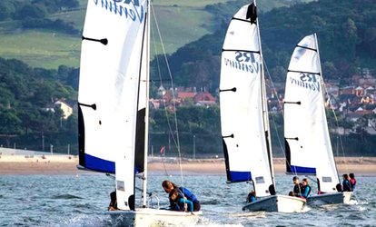 image for Sailing or Windsurfing Taster Session for One or Two at Colwyn Bay Watersports (Up to 42% Off)