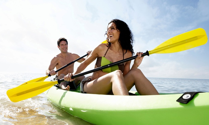 Urban Kayak - Downtown: Two- or Four-Hour Kayak or Stand-Up Paddle Rental from Urban Kayak (Half Off)