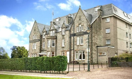 groupon.co.uk - Fort William: 1 or 2 Nights for 2 People with Breakfast, Late Check-Out, Drink and 3-Course Dinner at Alexandra Hotel
