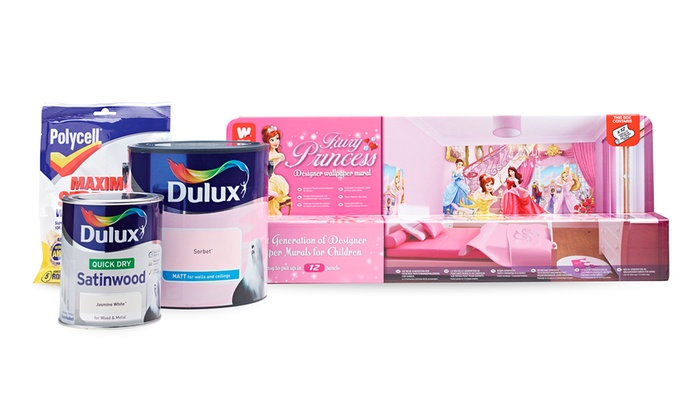 Dulux Kids' Bedroom In A Box
