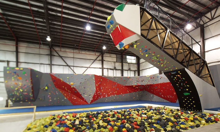 Hoosier Heights - Mayflower Park Drive: $129 for a 3-Day Indoor Rock Climbing Camp for Ages 6–14 at Hoosier Heights ($250 Value)