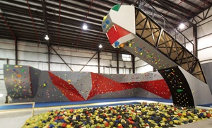 Hoosier Heights: $35 for Indoor Rock Climbing at Hoosier Heights ($60 Value)