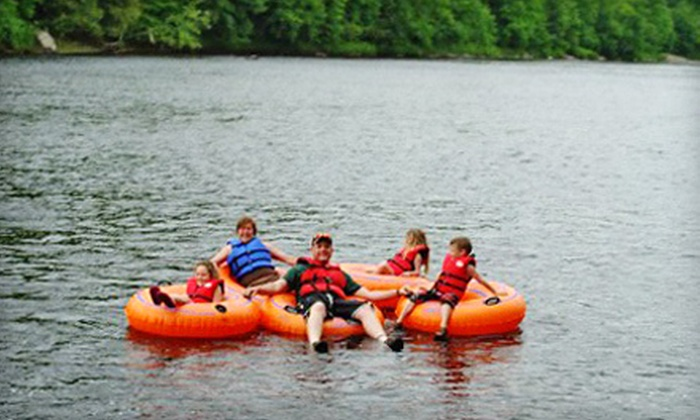 Adirondack Tubing Adventures - Adirondack Tubing Adventures: Two- or Four-Hour Guided Tubing Trip for Two or Four People from Adirondack Tubing Adventures (Up to 58% Off)
