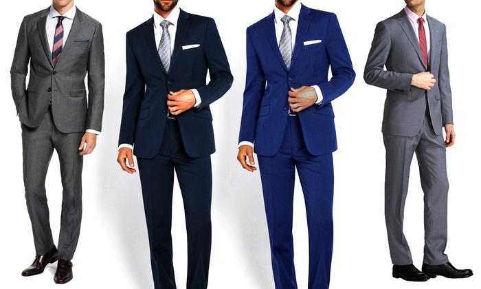 Abito sartoriale da uomo in lana tasmania vestibilità classica disponibile  in vari colori 63a44a1dd46