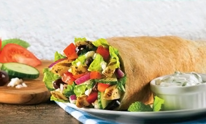 Extreme Pita - Norwell: $12 for Two Groupons, Each Good for $10 Worth of Food and Drink at Extreme Pita ($20 Value)