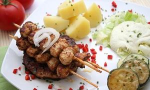Ellinico (Mons): Mezzés : entrée et plat pour 2 ou 4 personnes au restaurant grec Elliniko dès 34,99 €