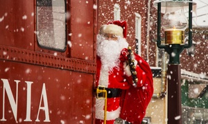 "The Colebrookdale Railroad: $119 for Santa and ""'Twas the Night Before Christmas"" Train from The Colebrookdale Railroad ($178 Value)"