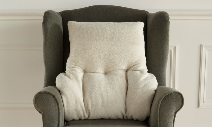 Fleece Lumbar Support Cushion From 14 99 Up To 58 Off