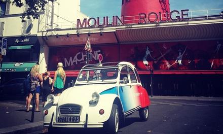 Une balade en 2 CV d'1h ou 2h dans les rues de Paris pour 2 personnes dès 79,90 € avec Paris Authentic