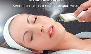 DERMA BLISS SPA: Up to 64% Off Ultrasonic Facials  at DERMA BLISS SPA