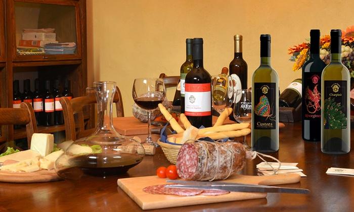 Antica Corte Bagolina - ANTICA CORTE BAGOLINA: Menu degustazione con 5 calici di vino e taglieri, visita alle cantine e bottiglie omaggio (sconto fino a 69%)