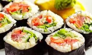 Sushi and Asian Cuisine for Lunch or Dinner at Spicy Tuna Sushi Bar and Grill (45% Off)