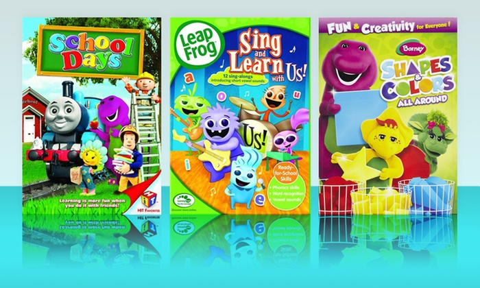 Children's Educational DVD 3-Pack: $14.99 for a Children's Educational DVD 3-Pack ($39.95 List Price). Free Shipping.