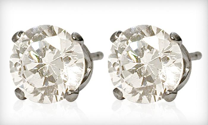 Swarovski Elements Crystal Stud Earrings: Swarovski Elements Crystal Stud Earrings Kitchener