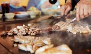Sumo Lounge: Menu teppanyaki en 6 services pour 2 ou 4 personnes avec show culinaire dès 49,99 € au restaurant japonais Sumo Lounge