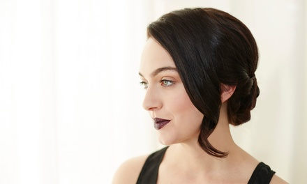 Cut and Deep-Conditioning Treatment with Optional Highlights or Color from Vonda at #Glambition Studio (50% Off)