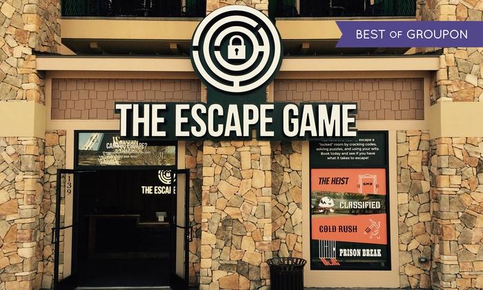 Room Escape Game The Escape Game Groupon