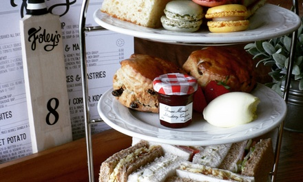 Traditional Afternoon Tea  with Optional Prosecco for Two or Four at Foley's Cafe (50% Off)