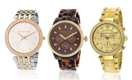 Michael Kors Men's and Women's Fashion Watches from $136.99–$259.99